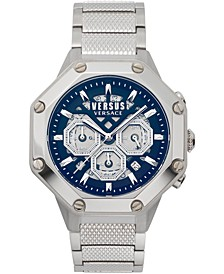 Men's Chronograph Palestro Stainless Steel Bracelet Watch 45mm
