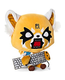 "Gund Sanrio Aggretsuko Rage Sound 12"" Plush Animal Red Panda Netflix Origina"