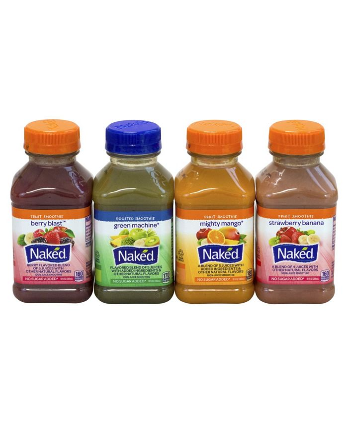 Naked Juice Smoothie Variety Pack (10 oz., 12 ct.) - Sams