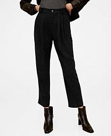 Flecked Suit Pants