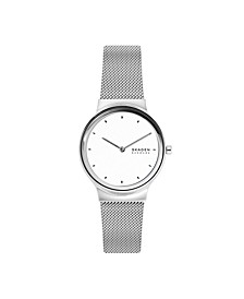 Women's Freja Stainless Steel Mesh Watch 34mm
