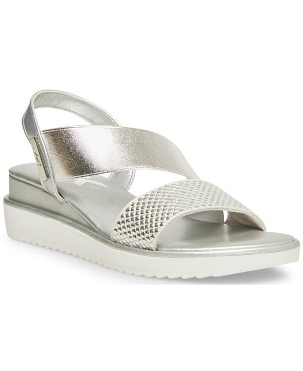 Anne Klein Lively Wedge Sandals