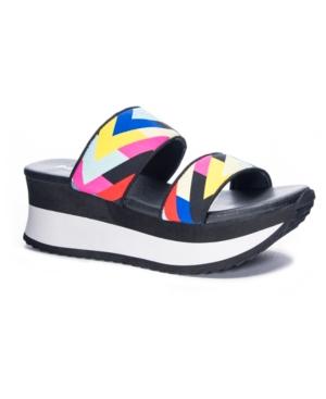 Got It Women's Fabric Wedge Sandal Women's Shoes