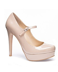 Women's Winter Platform Stiletto Pump