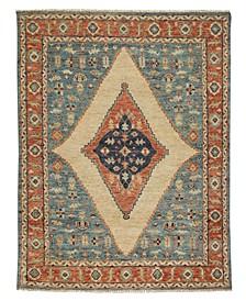 Charise-Tabriz 435 Bluestone 9' x 12' Area Rug