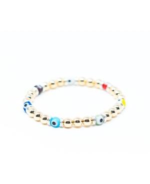 Luxe Gold Evil Eye Bracelet
