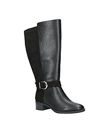 Easy Street Victoria Plus Athletic Shafted Tall Boots