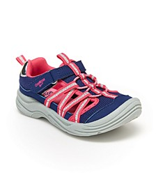 Little Girl's Charis Bump Toe Sneaker