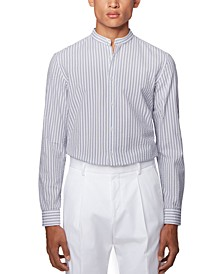 BOSS Men's Jorris Open White Shirt