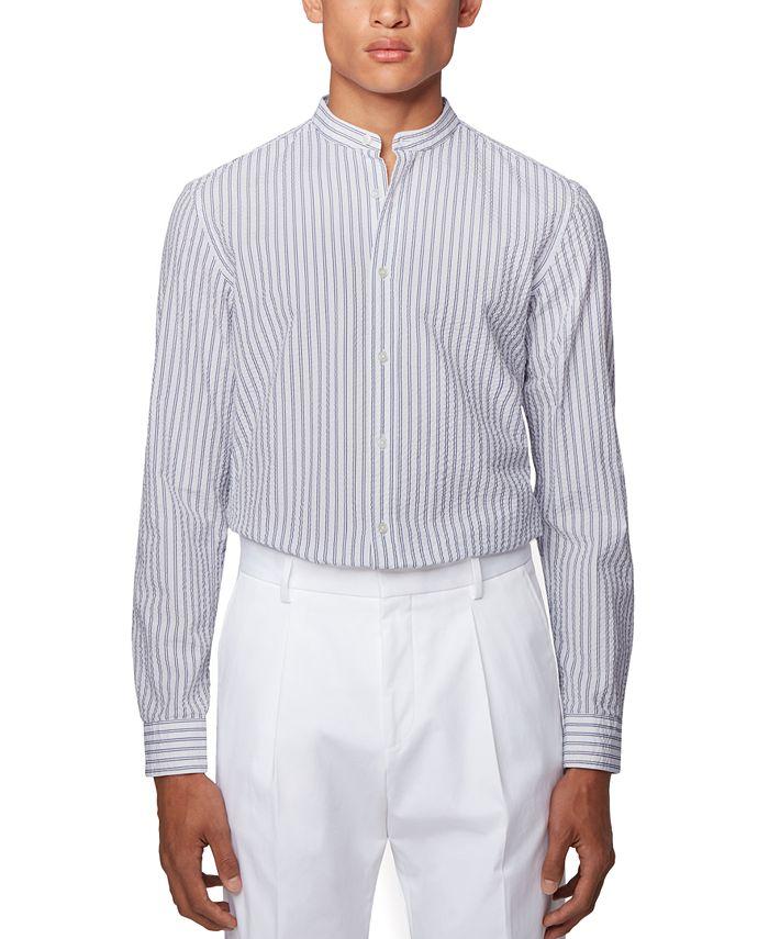 Hugo Boss - Men's Jorris Open White Shirt