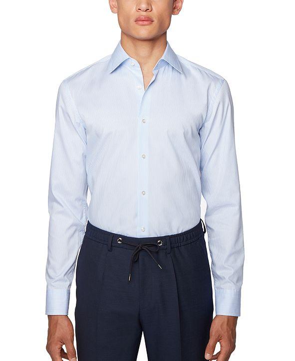 Hugo Boss BOSS Men's Jango Light Blue Shirt