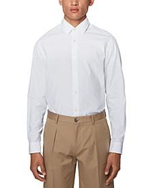 BOSS Men's Lukas Light Beige Shirt