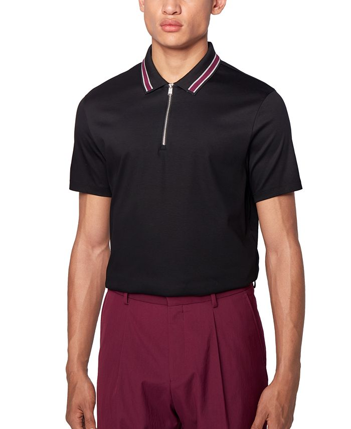 Hugo Boss - Men's Paras 06 Black Polo Shirt