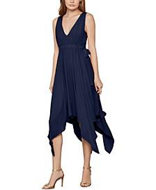 Asymmetrical Drawstring Dress