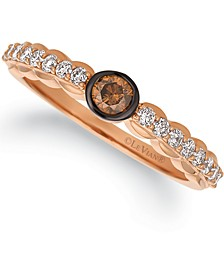 Chocolatier® Multi-Color Diamond Ring (3/8 ct. t.w.) in 14k Rose Gold