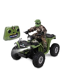 Realtree 1-8 Scale Rc Polaris Sportsman Xp 1000 with Turbo Boost Rider