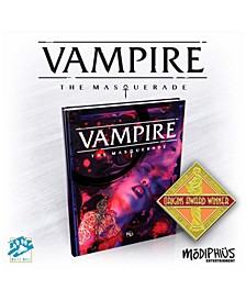 Entertainment Vampire- The Masquerade 5Th Ed. Hardback, Full Color Role Playing Game Rpg