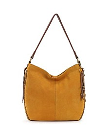 Indio Leather Bucket Hobo