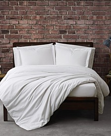 Solid Percale Duvet Set Collection