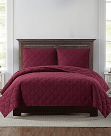 Everyday 3D Puff Twin XL Quilt Set
