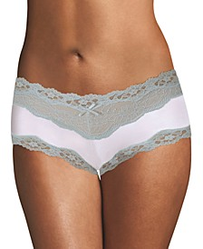 Scalloped Lace Hipster Underwear 40823