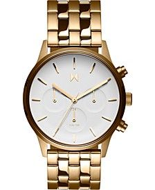Women's Chronograph Duet Gold-Tone Stainless Steel Bracelet Watch 38mm