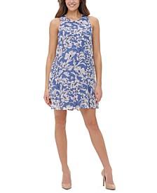 Olivia Floral-Print Shift Dress