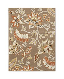 """Haven Hav13 Taupe 1'9"""" x 2'11"""" Area Rug"""