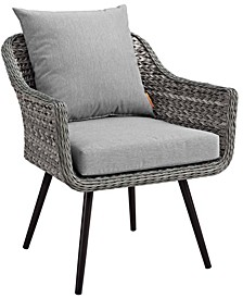 Endeavor Outdoor Patio Wicker Rattan Armchair