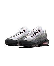 Men's Air Max 95 Premium Casual Sneakers from Finish Line
