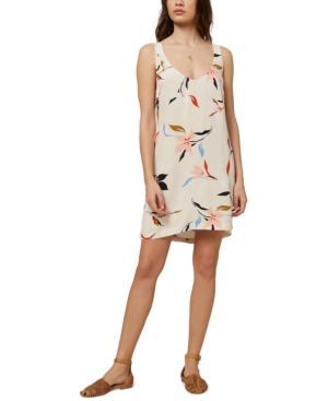 O'neill Juniors' Phan Floral Printed Dress In Multi