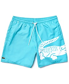Men's Quick-Drying Printed Swim Trunks