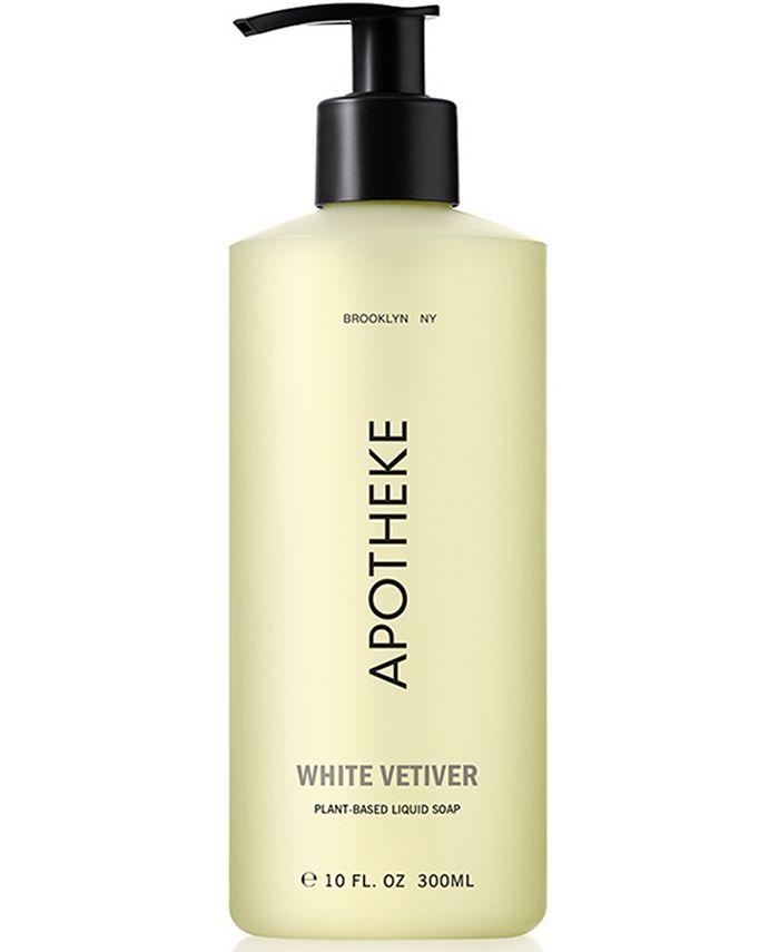 APOTHEKE - White Vetiver Liquid Soap, 10-oz.