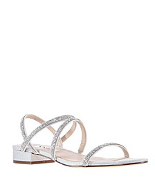 Swan Flat Sandal