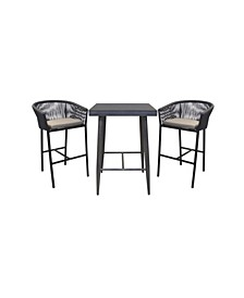 Braxtyn Outdoor Bar Collection with Sunbrella® Cushions, Created for Macy's