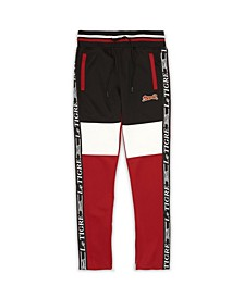 Men's Tri Color Track Pants
