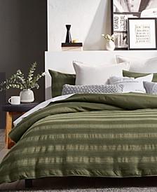 Avenue Stripe Full/Queen Comforter Mini Set