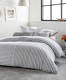 Clipped Squared Full/Queen Comforter Mini Set