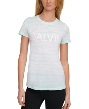 Calvin Klein PERFORMANCE LOGO TIE-DYED T-SHIRT