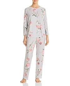 Kathy Printed Pajama Set