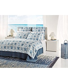 Azulejo Queen Duvet Cover