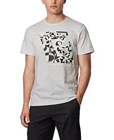 BOSS Men's Tee 3 Cotton T-Shirt