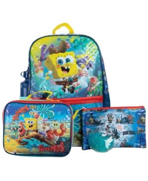 Bioworld Spongebob Backpack, 5 Piece Set