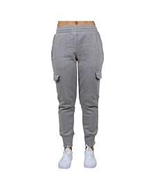 Women's Cargo Fleece Jogger Sweatpants