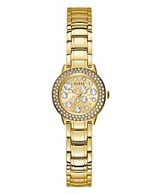 Gold-Tone Petite Crystal Watch 25mm