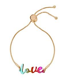 Rainbow Love Friendship Bracelet