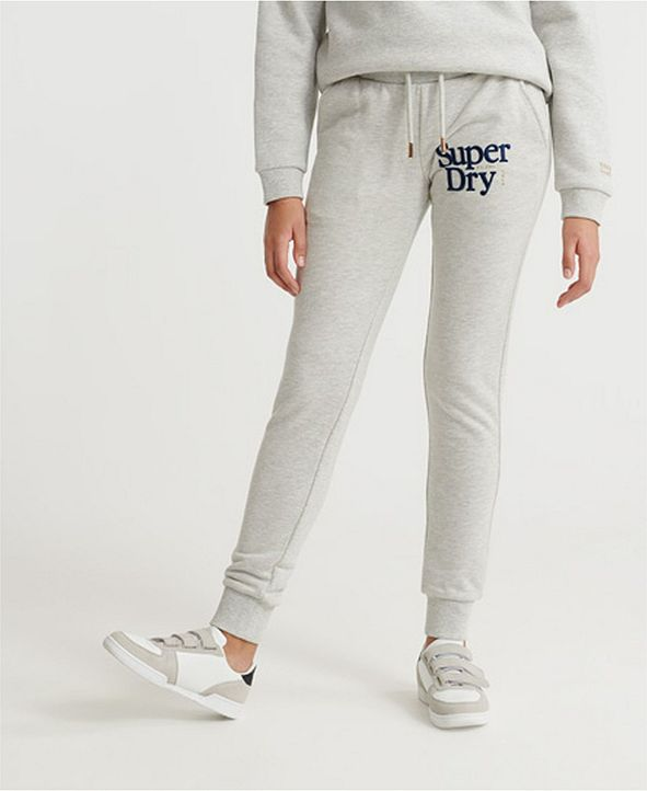 Superdry Women's Applique Serif Loopback Joggers