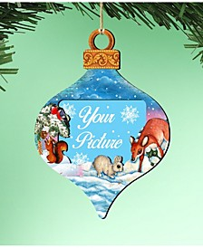 Picture Ornament Picture Frame Ornament, Set of 2