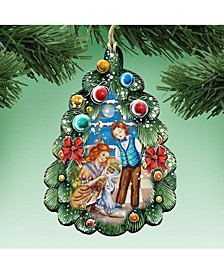 Nutcracker Christmas Tree Ornament Set of 2