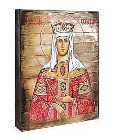 """Saint Elena Icon 16"""" x 12"""""""